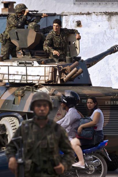 Reportes recabados por la agencia EFE, señalan a Vila Cruzeiro como la f...