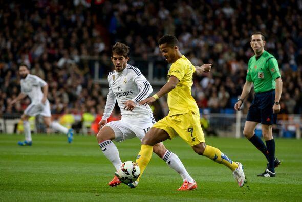 El Submarino amarillo se plantó bien en la cancha del Santiago Bernabéu...