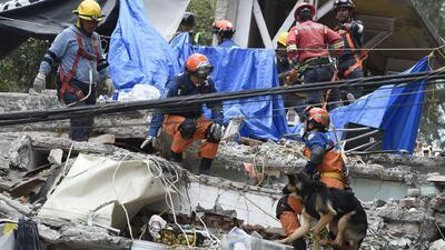 México, entre rescates y demoliciones tras tres días del terremoto