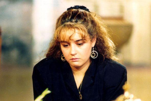 """Cecilia Tijerina, en la telenovela """"La Fuerza Del Amor"""", México, 1990"""
