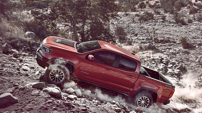 Estas son las trocas más vendidas hasta mayo de 2017 Chevrolet-Colorado_...