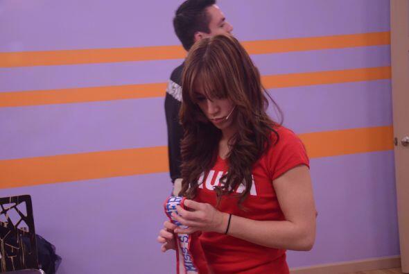 A pesar de su tristeza, Laura intenta no perder la fuerza para seguir ad...