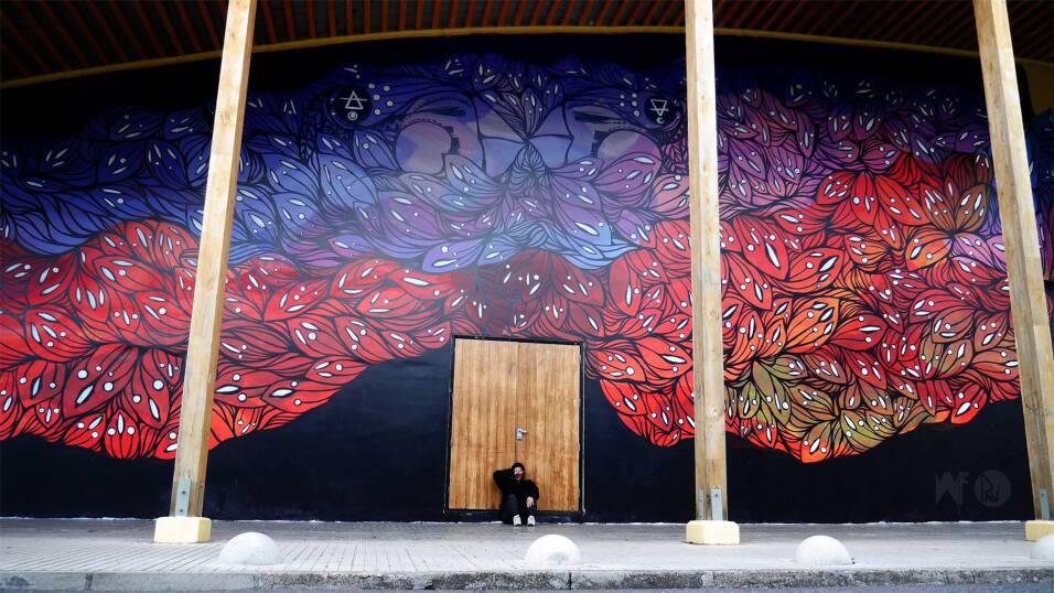 Muralistas chilenas se organizan para tomarse las calles 12888620_699763...