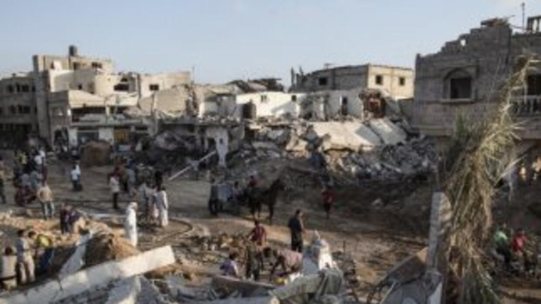 Por primera vez desde el inicio de la guerra los palestinos pudieron rez...