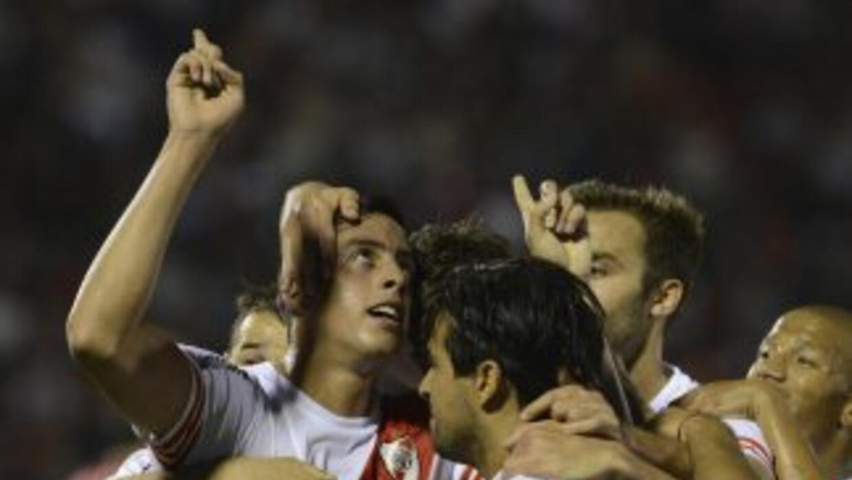 Funes Mori marcó el gol del triunfo de los Millonario.