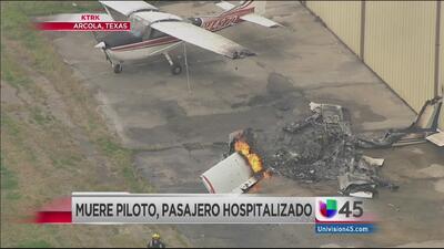Muere un piloto tras colisión de avioneta