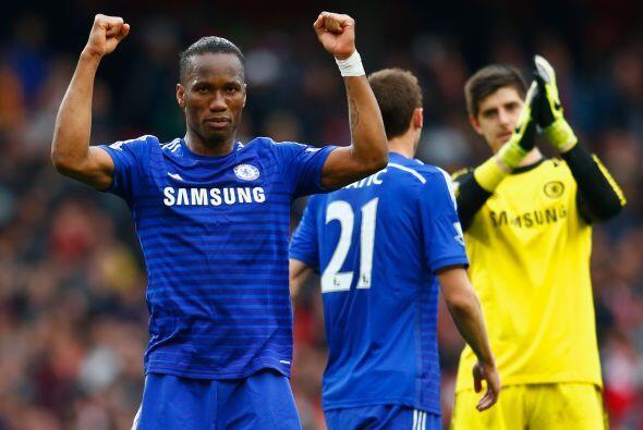 Chelsea sacó un empate de la cancha del Arsenal para casi acarici...