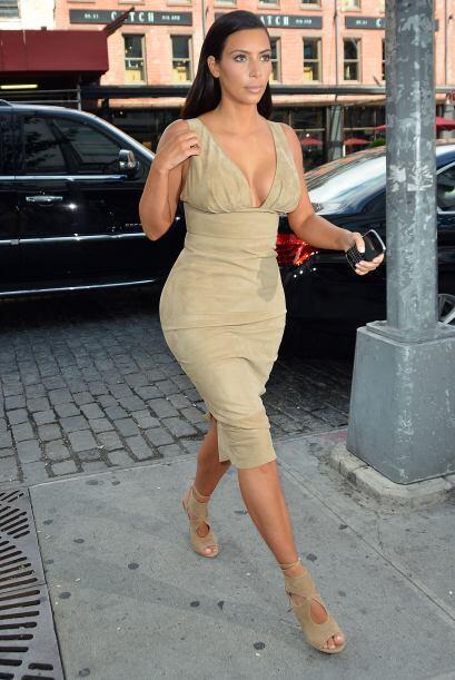 ¡Kim Kardashian siempre nos da de qué hablar! En esta ocasi...