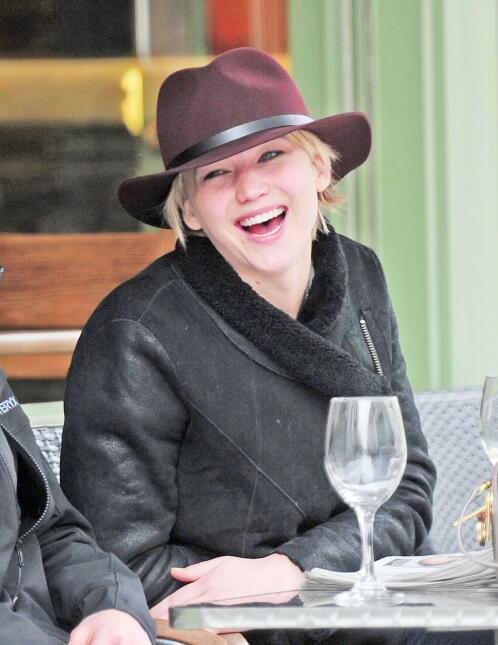 Jennifer Lawrence y  Nicholas Hoult
