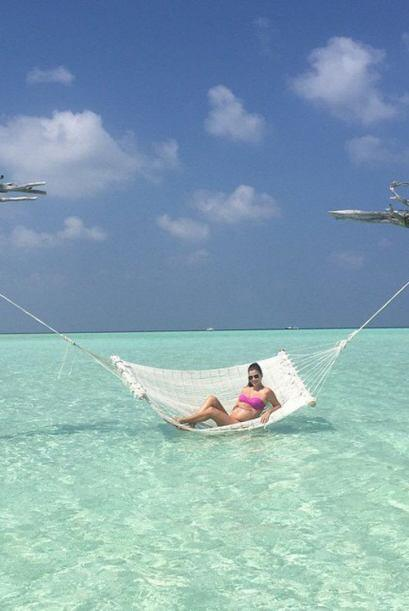 ¡Otro bello amanecer en las Maldivas! (Enero 22, 2015)