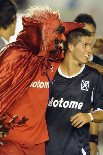 Independiente de Argentina, representado por el ´Diablo´ que...