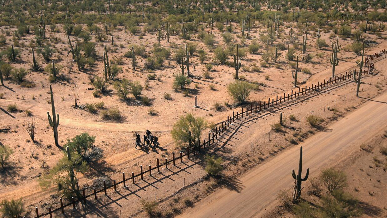 Desierto de Arizona, inmigración indocumentada