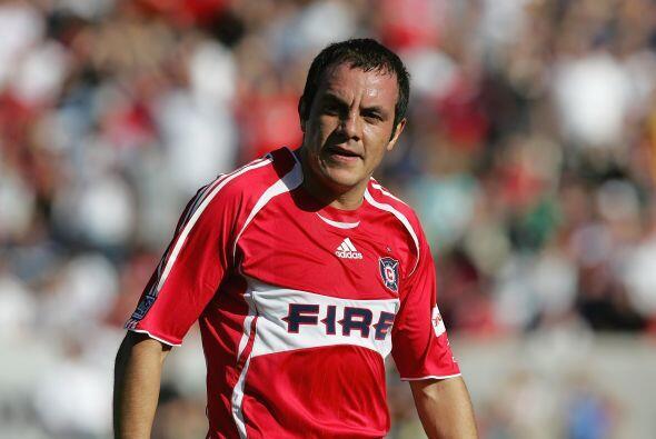 En el 2007 llegó al Chicago Fire de la MLS. Su contratación llenó estadios.