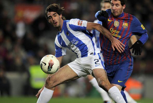 Messi estuvo bien con la pelota pero no tan fino a la hora de definir.