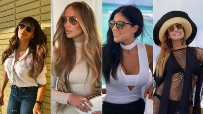Estilo, vanidad y belleza: locutores y artistas con gafas de sol