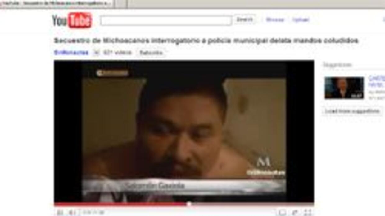 Un video publicado en Youtube señala las declaraciones de un supuesto po...