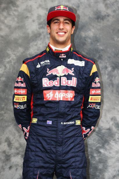 Dainel Ricciardo, Australia, Toro Rosso-Ferrari.