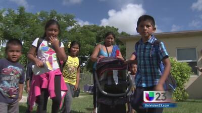 Niños del sur de la Florida pedirán a congresistas aprueben reforma migr...