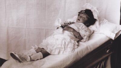 'Niña de Guatemala' (1920). Fotografía de Julio Cordero Castillo.