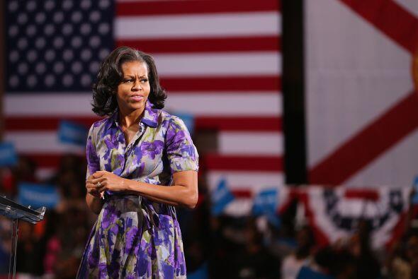 Junto a Jill Biden, esposa del vicepresidente Joe Biden, dirige una asoc...