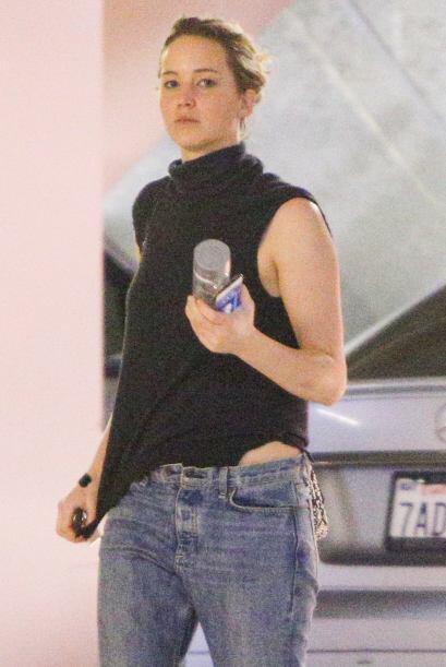 ¡Uy! Ahora sí que Jennifer Lawrence nos dejó con la duda.