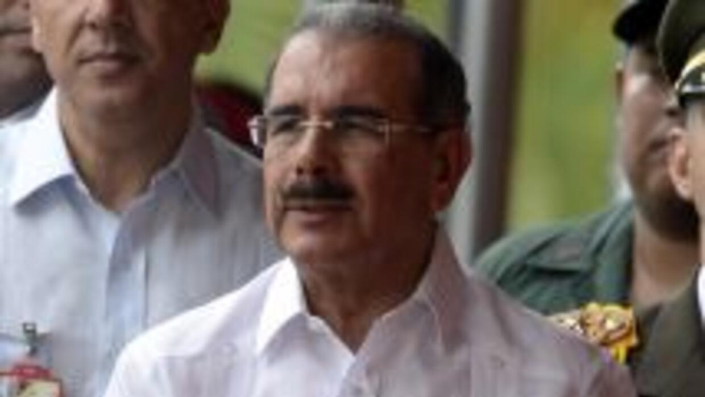 El presidente de República Dominicana,Danilo Medina.