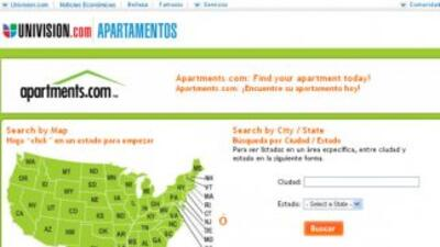 Apartments.com tiene más de 50 mil opciones a tu disposición.