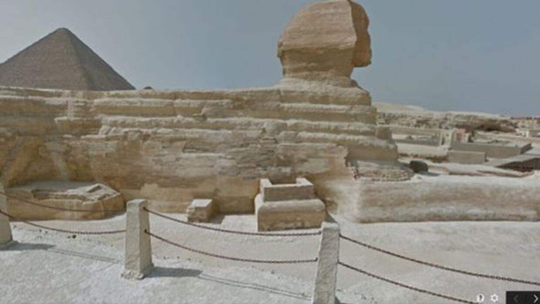 Street View ahora nos permite ver el centro arqueológico de las famoss p...
