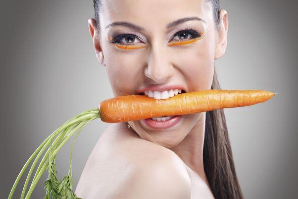 Las zanahorias son aliadas de la visión: verdad. La vitamina A (presente...
