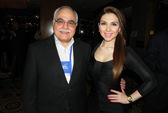 Angélica Atondo con José Ruano