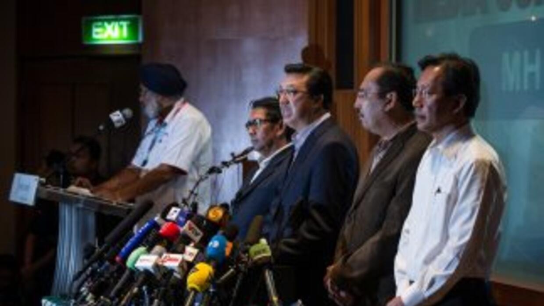 El ministro malasio enfatizó que los responsables tienen que ser llevado...