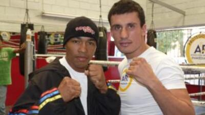 'Massa' Ortíz y Liñan se conocieron en el entrenamiento público que ofre...