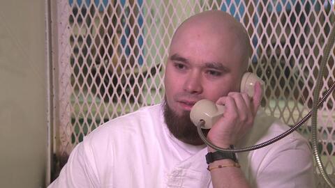 John Henry Ramírez, de 32 años, es un reo en el pabell&oac...