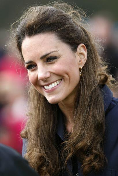 Su prometida, Kate Middleton también fue incluida.
