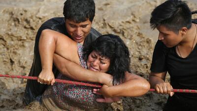 Las impactantes fotos de las inundaciones de Perú en las que ya han muerto 106 personas