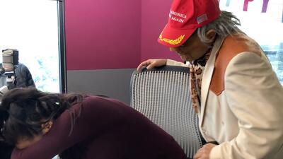 Carla llegó 'cruda' después de su cumpleaños y a Don Telaraño le avergüenza
