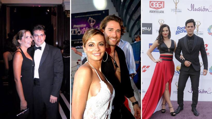 Parejas en los Premios TVyNovelas