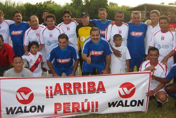 De vuelta a Miami, nuestro Presidente se fue a jugar por la causa del Perú.