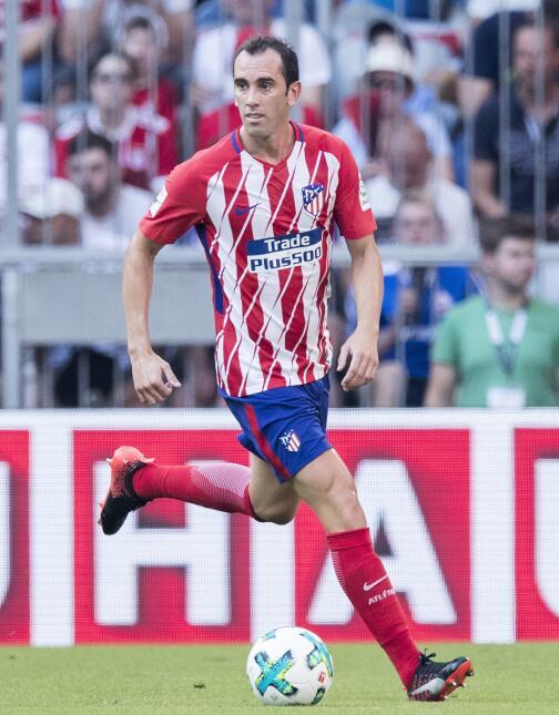 27. Diego Godín (Atlético de Madrid) - Puntaje: 88