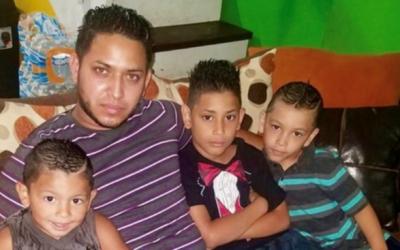 Autoridades creen que los tres menores de ocho, cinco y dos años...