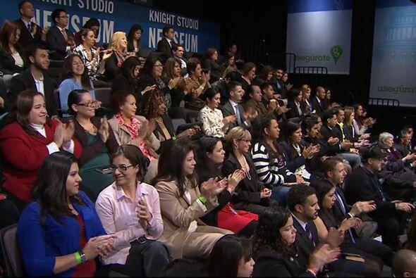 Organizado por la campaña Asegúrate, en asociación con Univision, ImpreM...