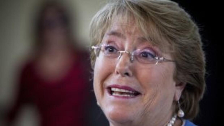 La presidenta de Chile,Michelle Bachelet.