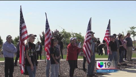 Rinden tributo a soldados caídos en el Cementerio Nacional de Sacramento