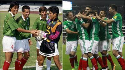 ¿Cuál Selección Mexicana es mejor, la que jugó el Mundial 1994 o el Tri de la actualidad?