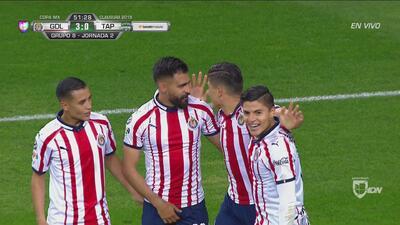 ¡Chivas golea! Basulto, con clase, consigue el 3-0