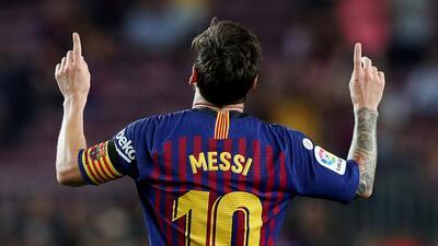 Messi marcó gol 6 mil de Barcelona en La Liga y auguró doblete en la temporada