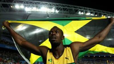 Usain Bolt es el hombre más veloz del mundo.