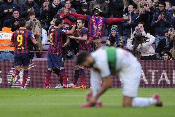 El atacante no perdonó y con un toque sutil definió para el 2-0.