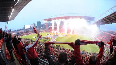 El BMO Field ha sido sede de las dos últimas finales de la MLS Cup