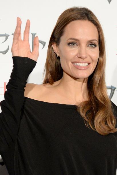 Angelina Jolie alzó la mano para confirmar que se dará el tiempo para no...